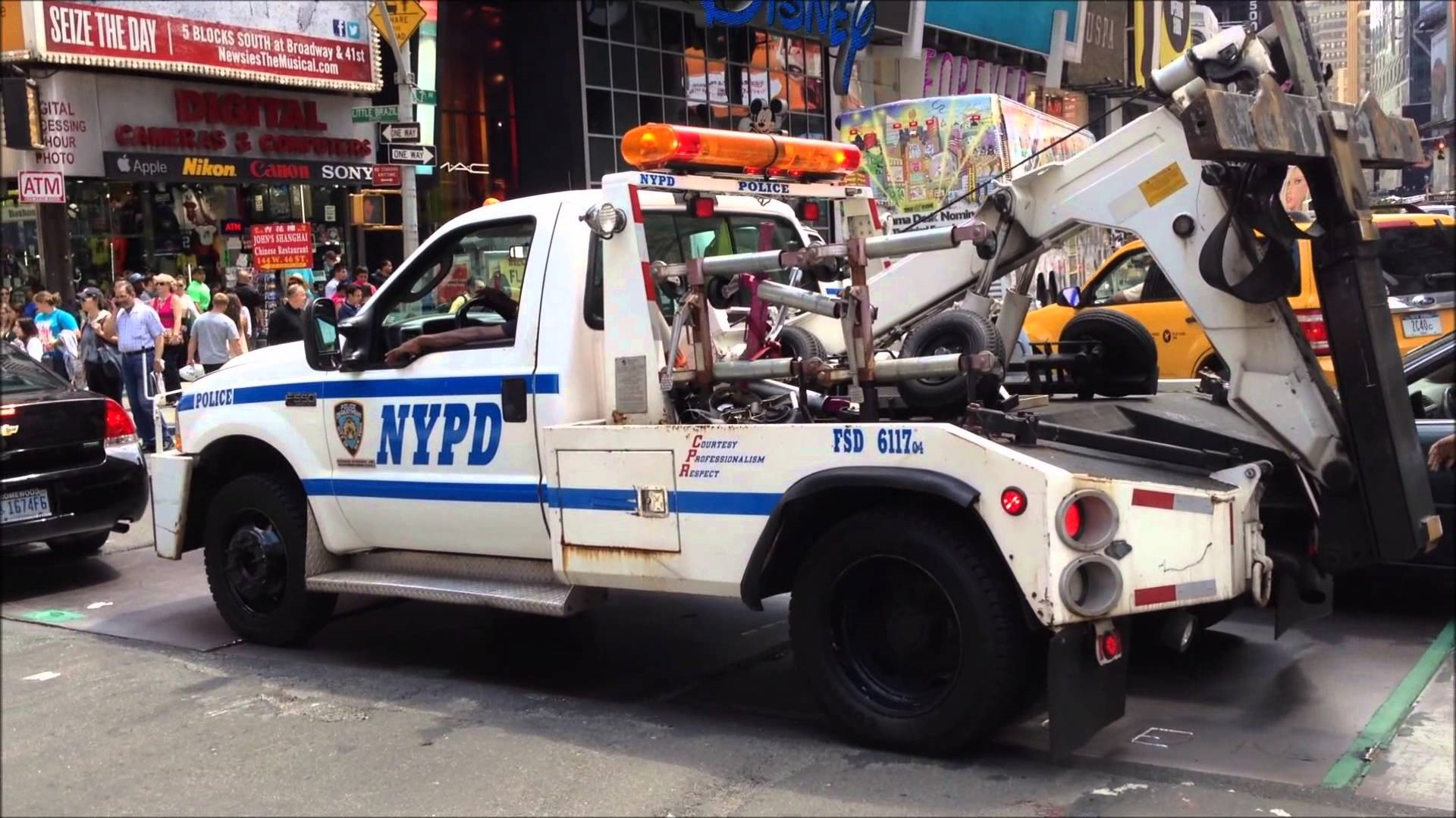 nyc towtruck